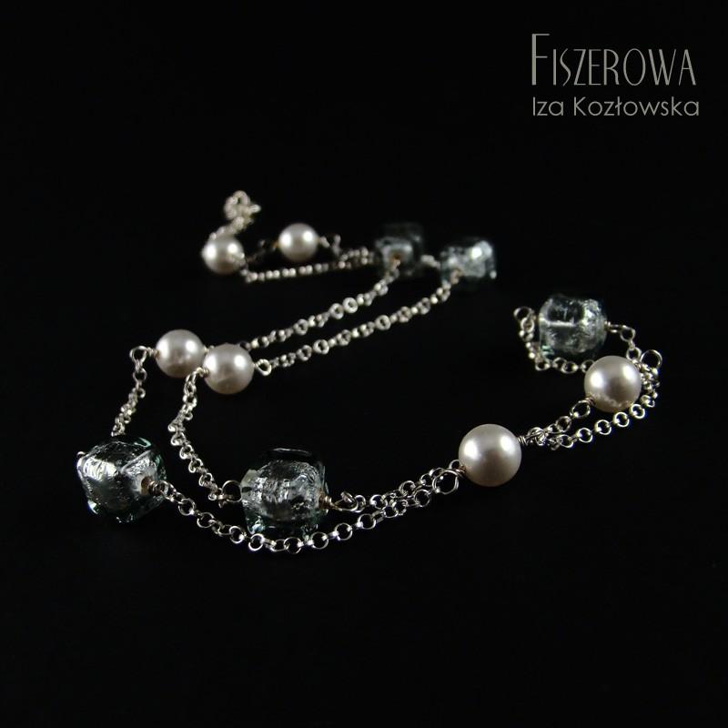 Business Murano - silver & gray