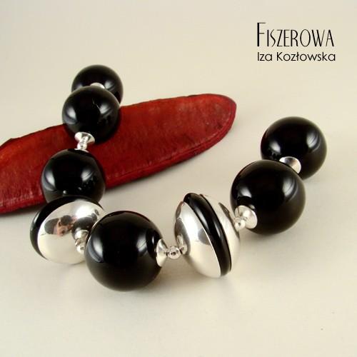 Black classic - bransoleta