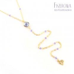 Złota nitka - violet