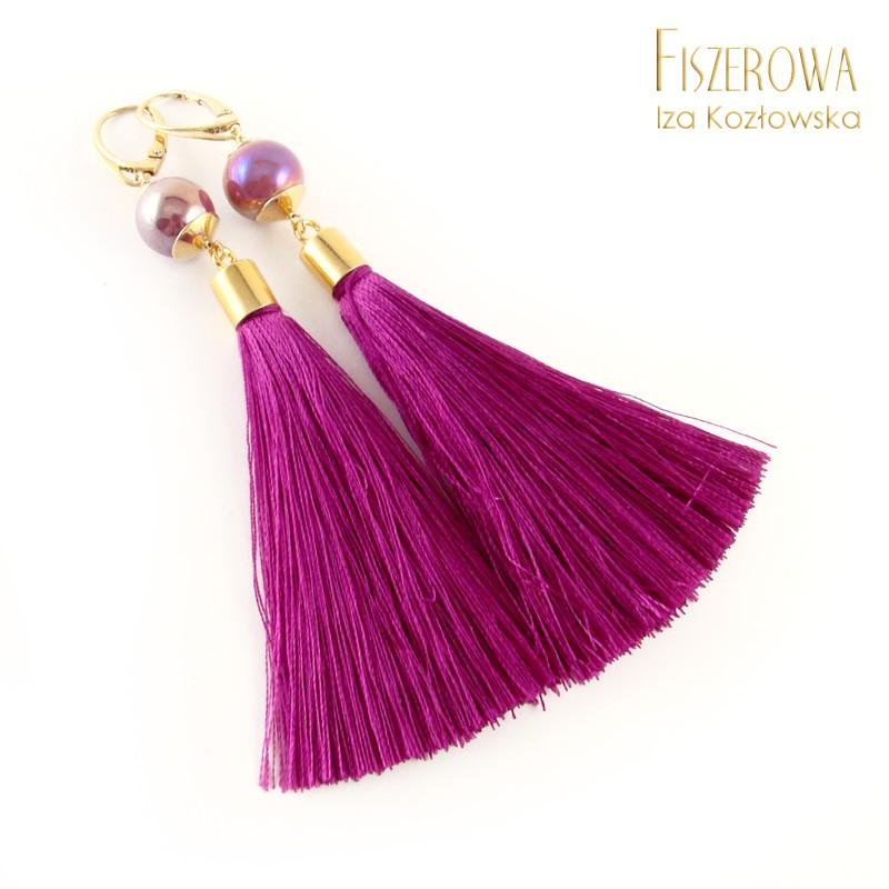 Tasselmania - purpurowy