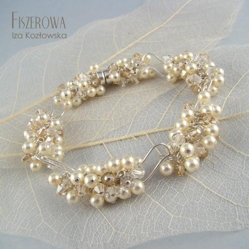 Farbala cream - bransoleta