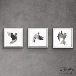 Origami birds - trypytk
