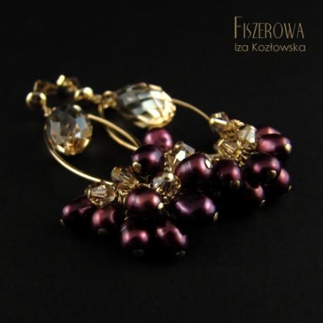 Afia gold purple