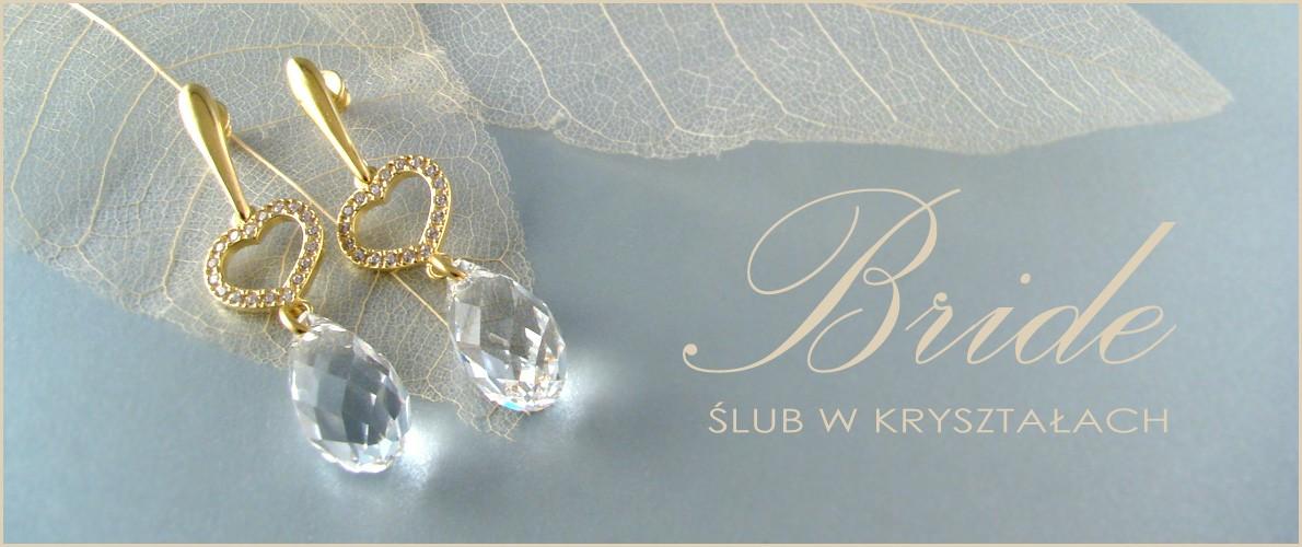 Zobacz ślubną biżuterię z kryształami